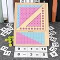 Детские Учебные пособия по математике Монтессори, игрушка для детей, Дошкольная математическая обучающая игрушка, деревянные игрушки для д...