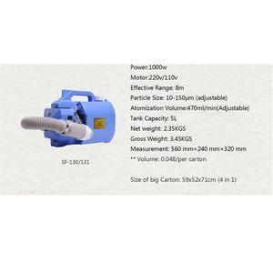 Image 4 - PULVERIZADOR ULV eléctrico portátil de 110V/220V, máquina de nebulización de mosquitos, nebulizador de capacidad Ultra baja inteligente con CE para plagas de Mosquitos