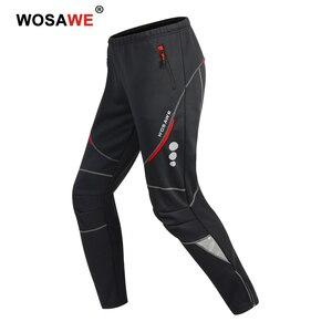 Image 1 - WOSAWE Männer Motorrad Hosen Winddicht Schutz Getriebe Motocross Motorrad Reiten Hosen Moto Hose Fleece Warme Up