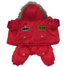 Новая Теплая камуфляжная курта для собак зимняя водонепроницаемая одежда для собак модная одежда для чихуахуа для маленьких и крупных собак XL Z