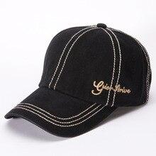 Yeni yıkama yapılmış eski beyzbol şapkası erkek açık güneş şapkası retro kaba hat şapka