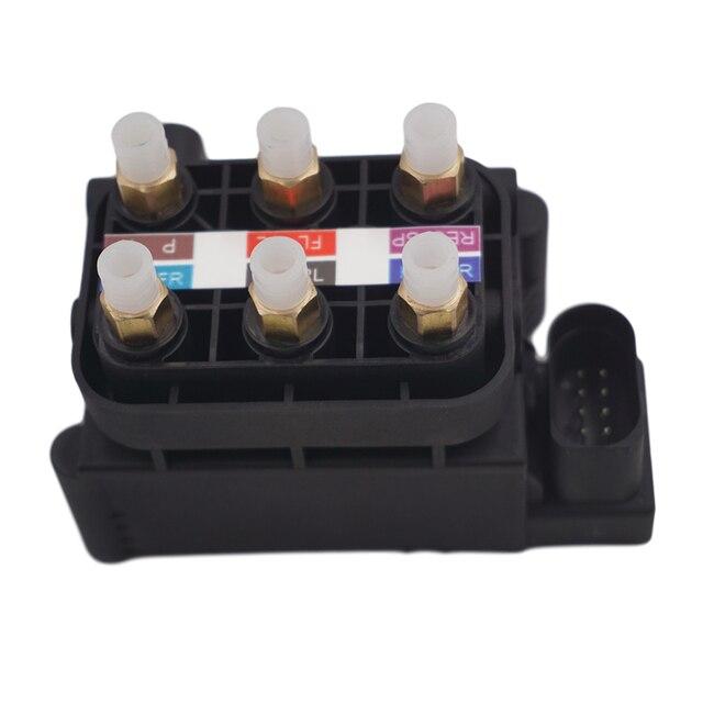 Bloque de válvula de suspensión de aire para Audi A6 C6 A8 D3 OEM 4F0616013 4F0616005B, 4Z7616007, 4Z7616007A