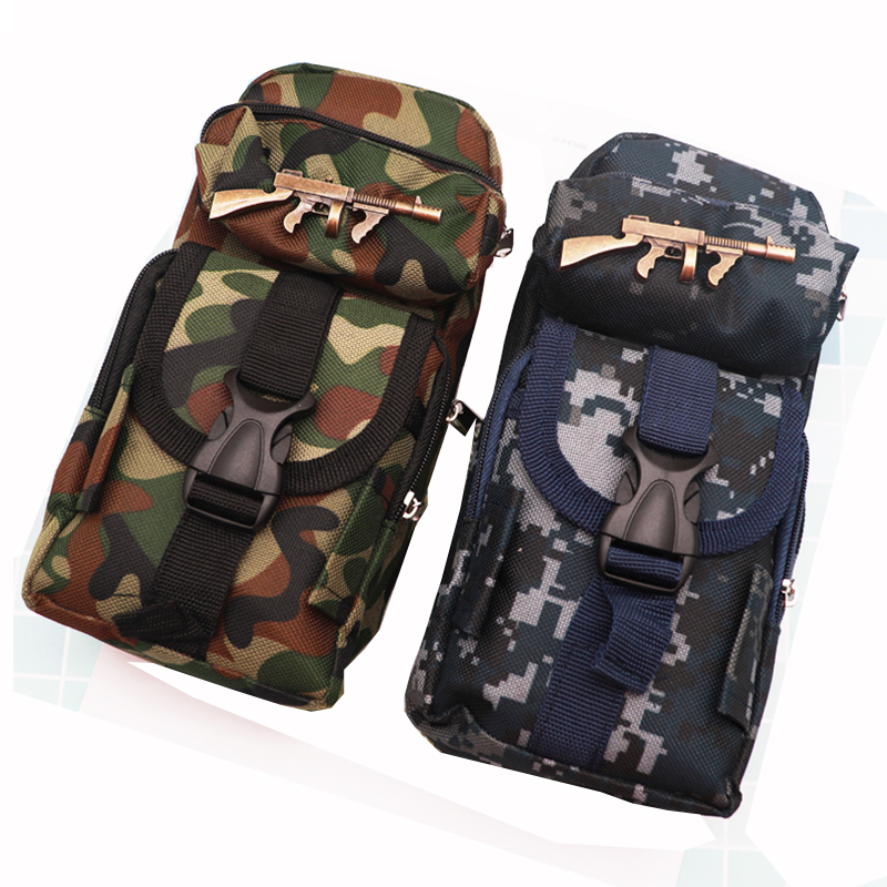 School Pencil Bag For Boys Camouflage Big Pencil Case Multifunction Large Capacity Pen Bag Box For Kids Gifts Kawaii Stationery