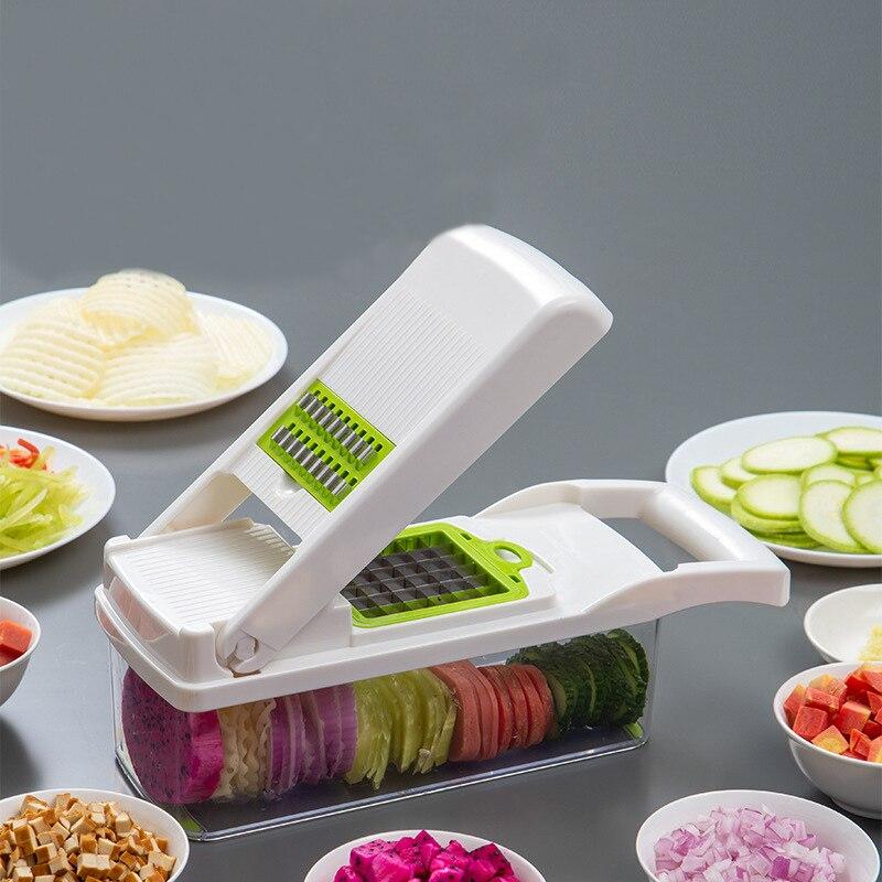 Vegetable Cutter Kitchen Accessories Slicer Fruit Cutter Potato Peeler Carrot Cheese Grater Vegetable Slicer