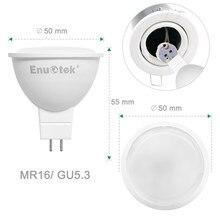 Nova lâmpada led de alta potência mr16 gu5.3 choque 7w não pode ser escurecido holofote legal branco mr 16 12v conduziu a lâmpada gu 5.3