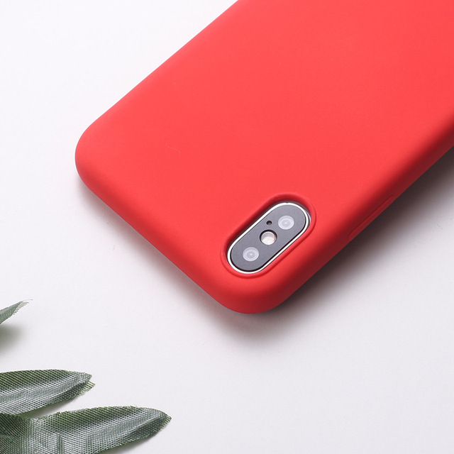 Silicone Cover Case iPhone Xs 3