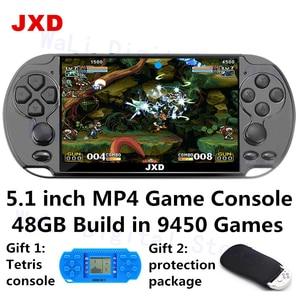 JXD 5.1 inch retro video game