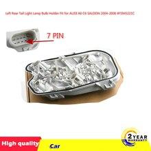 1 adet sol arka kuyruk lambası lamba ampulü tutucu AUDI için Fit A6 C6 SALOON 2004 2008 4F5945221C