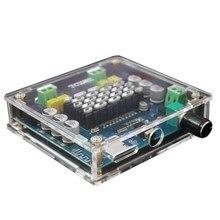 Bluetooth 4.1 TPA3116 50W x2 amplificatore di Potenza digitale di bordo 2.0 Stereo AMP Modulo di Supporto Carta di TF AUX XH A104