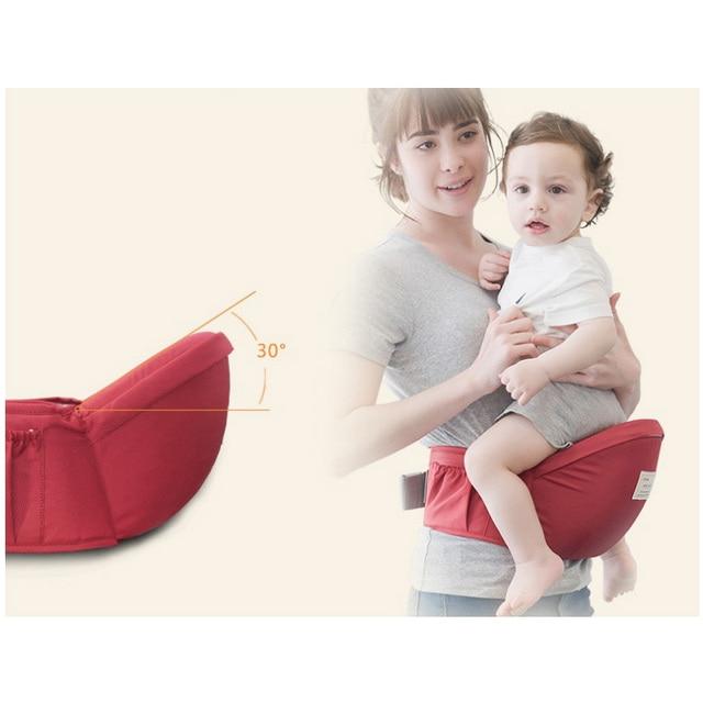70-120cm Waist belt Baby Carrier Waist Stool Walkers Baby Sling Hold Waist Belt Backpack Hipseat Belt Kids Infant Hip Seat | Happy Baby Mama