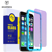 SmartDevil anti-blue light tempered glass for iphone 6 6s plus mobile phone screen protector film matte protective film smartdevil screen protector for meizu 16th tempered glass protector film 2 pieces mobile phone toughened film anti fingerprint