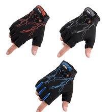 Gants unisexes pour faire du Fitness, soulever la moitié du doigt, gants de sport en plein air pour l'entraînement, le vélo