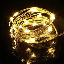 10% 2F20LED освещение свет шнур дом праздник рождество декор фея свет аккумулятор питание IP44 водонепроницаемый мини ночь лампа полоска