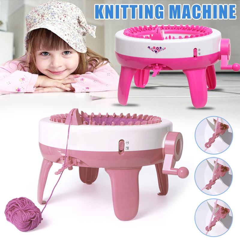 40 Needles Large Size Knitting Loom DIY Scarf Hat Hand Weaving Machine Toys for Kid Adult UD88|DIY Knitting| |  - title=