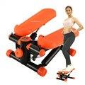 Multifuncional máquina a pedales pérdida de peso salud y Fitness Twist Stepper, máquina de Fitness portátil con bandas y Monitor LED