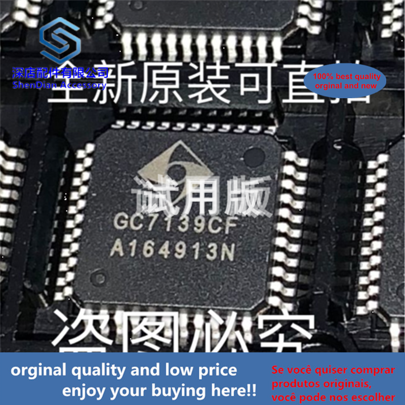 5pcs 100% Orginal And New GC7139CF QFP44 GC7139 Best Qualtiy