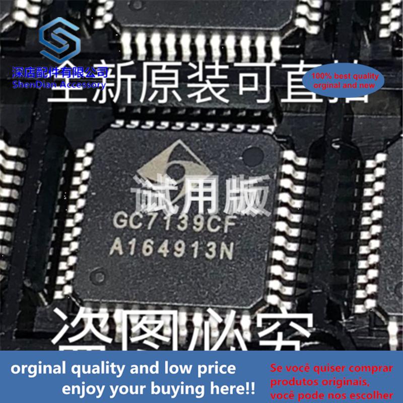 5pcs 100% Orginal And New GC7139CF QFP44 GC7139 Best Qualtiy