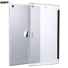 Case for iPad 2018 9.7 inch, ESR Hard Back Case Perfect Match with Smart Keyboard Slim Fit Back Shell Cover for iPad 9.7 2017 case for ipad pro 9 7 inch esr slim fit shell case [soft tpu bumper corner] back cover for ipad pro 9 7 inches 2016 release