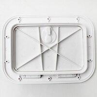 Marine Deck Plate Inspection Hatch Plastic Access Boat RV 375x280mm