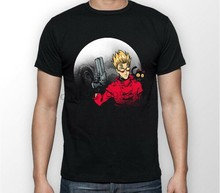 Trigun Vash The Stampede Moon Anime Manga Unisex Tshirt T Shirt Tee All Sizes(China)