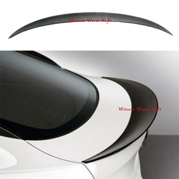 For X6 E71 Carbon Fiber Car Rear Trunk Lip Spoiler Wing for BMW 2008-2014 image