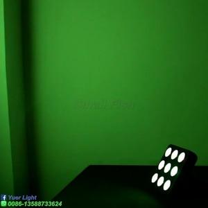 Image 5 - LED Par ışık 9X4W RGBW 4IN1 Mini disko Dj yıkama sahne aydınlatması etkisi DMX 512 kontrol düğün parti kulübü lamba ekipmanları