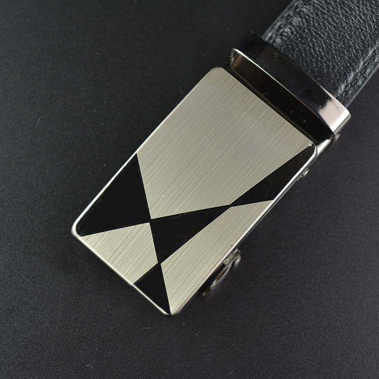 Luxury Automatic Buckle Male Belts Mens Business Style Belt Leather Strap Male Belt Metal Buckle Man Jeans Pants Leather Belt