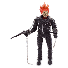 Marvel Ghost Rider Johnny Blaze PVC Action Figure Movable Collectible Model Toy Christmas Gift For Children