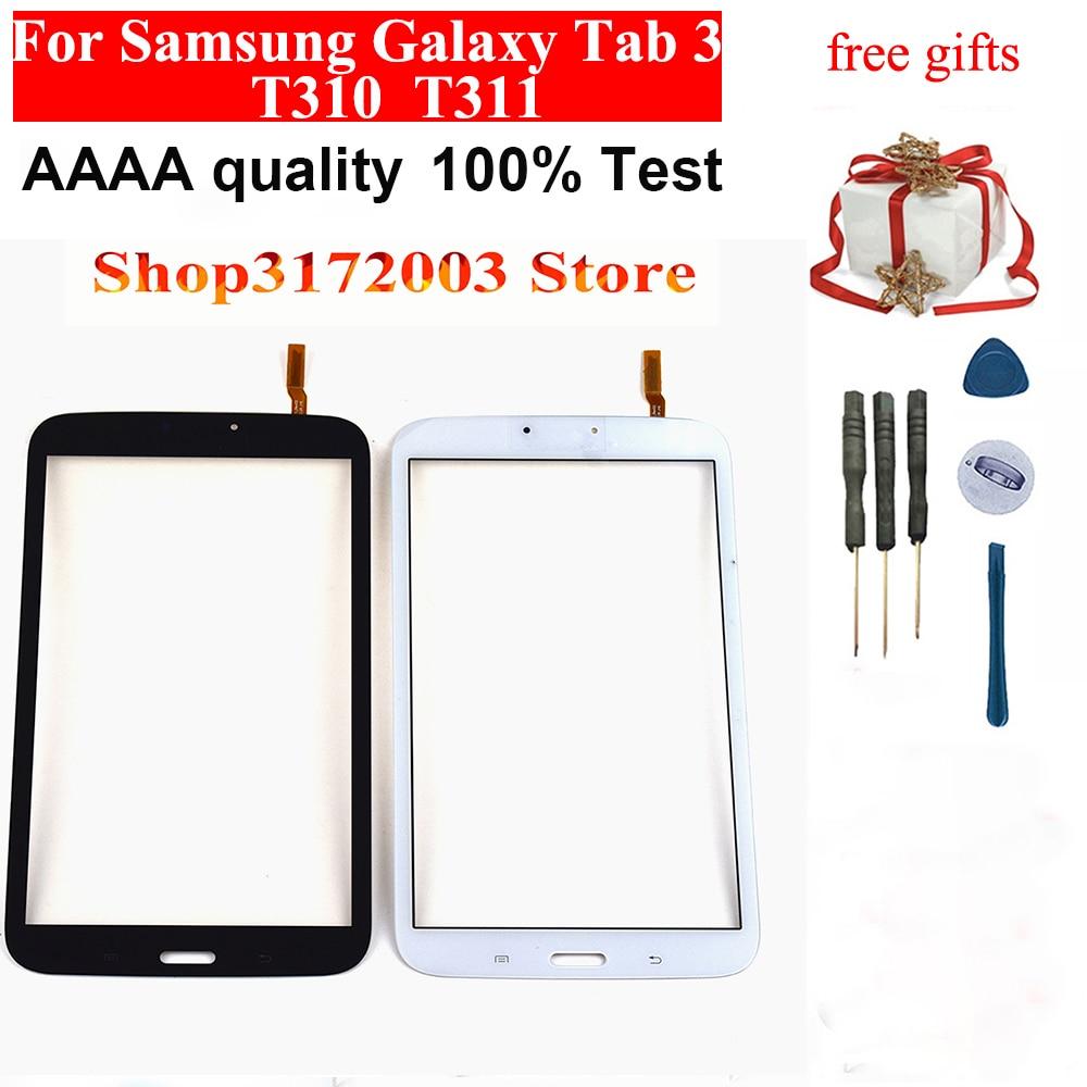 "Samsung Galaxy Tab 3 8/""  SM T310 Touch Screen Digitizer White"