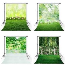Photography Background Easter Wedding-Backdrop Photo-Studio Natural Flower Scenery Grassland