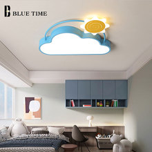 цена на Modern LED Ceiling Lights for Living Room Dining Room Indoor Lighting Fixtures Aisle Lights Children Light Ceiling Lamps Lustre