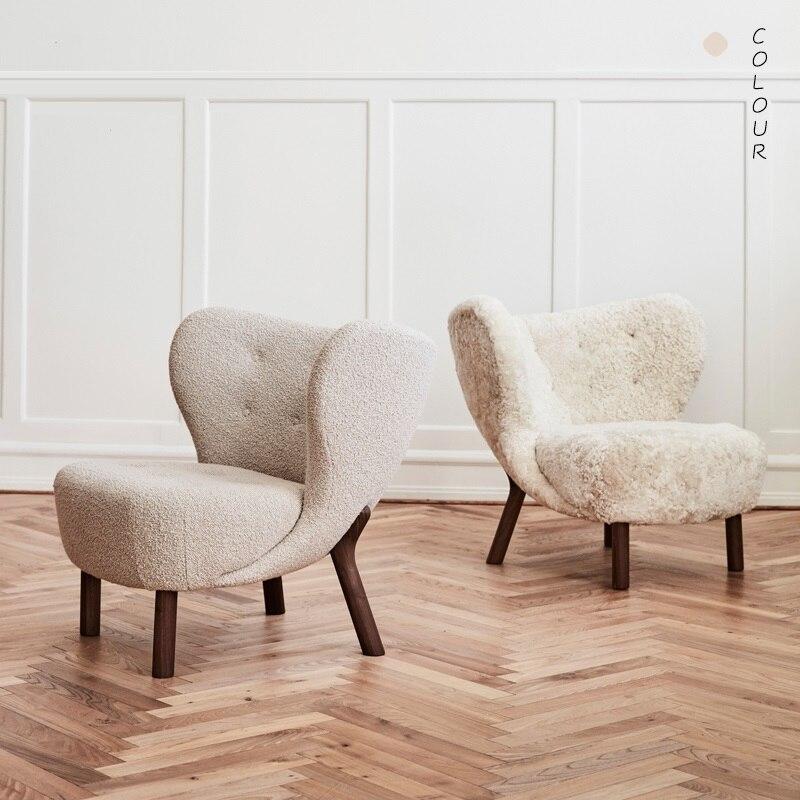 Galleria fotografica U-BEST Semplice E moderno divano letto singolo piccolo tavolo da tè combinazione mini balcone camera da letto cafe tessuto piccola sedia