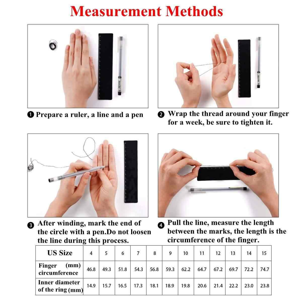 NFC חכם טבעת IC תעודת זהות עבור NFC נייד טלפון אינטליגנטי שבב נירוסטה קסם אצבע NFC טבעת עמיד למים חכם טבעת