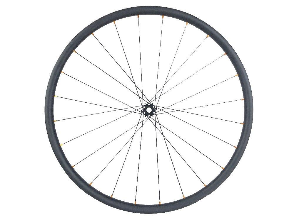 Image 2 - Ultra Light 1050g 650B MTB XC 24mm tubeless straight pull carbon wheels D411SB D412SB 24H 28H 6 bolt 10S 11S XD XX1Bicycle Wheel   -