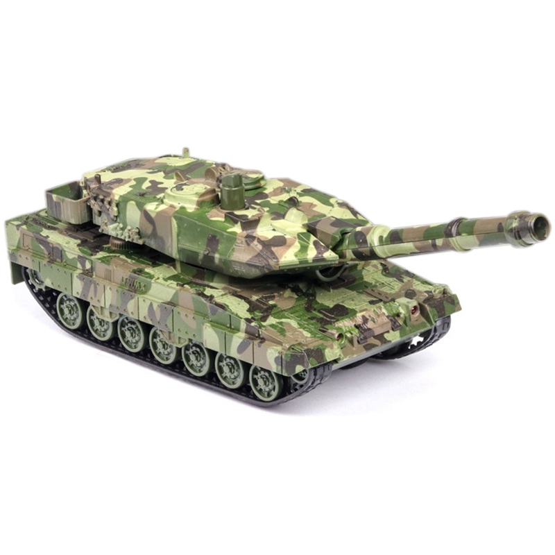 1:32 Diecast Tank Alloy Toy Model Simulation Tank Children Toy Car Sound And Light Pull Back Decoration Gift