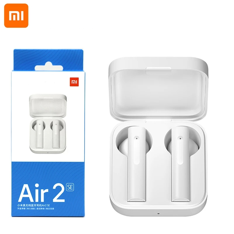 Original Xiaomi Air 2 SE TWS Bluetooth Headset AirDot Pro 2SE Mi Wahre Bass Wireless Headset Smart Touch 20 Stunden batterie Standby