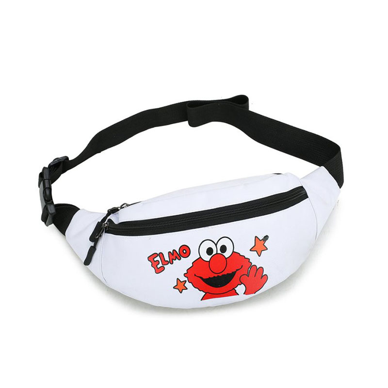 Canvas Waist Belt Bag Women Small Waist Bag Banana Pack Casual Fanny Pack Travel Bum Bag Girls Chest Pack Female