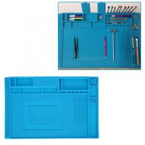 Image 4 - Alfombrilla de goma multifuncional para reparación de relojes, almohadilla de mesa para mantenimiento de electrónica, herramienta de reparación de relojes