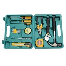 Общий набор инструментов для автомобилей домашний комплект авто аварийное оборудование Набор 16 штук шкаф тележка ручка гаражная тележка