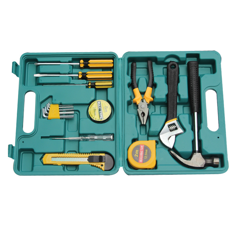 General Original  Vehicle Toolbox Home Kit Auto Emergency Equipment  Set 16 Pieces  Cabinet  Cart  Handle Garage Trolley
