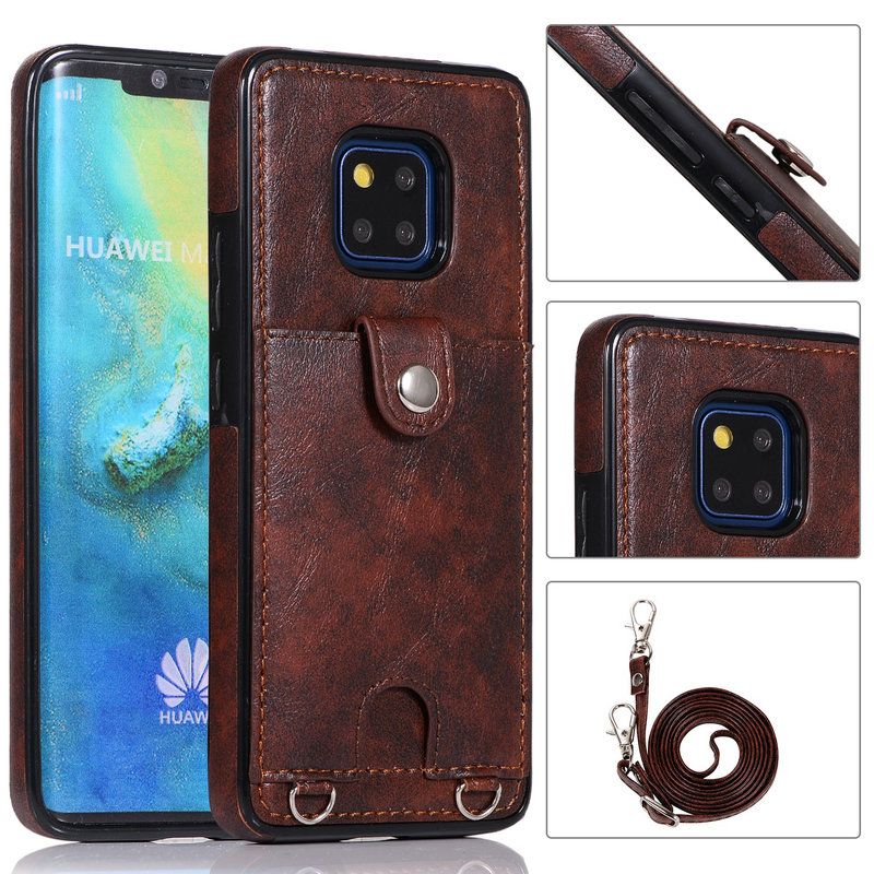 For <font><b>Huawei</b></font> Mate20 Pro Case Card Slot Funda <font><b>Huawei</b></font> <font><b>Mate</b></font> <font><b>20</b></font> <font><b>Lite</b></font> Case Leather Back Shell for <font><b>Huawei</b></font> <font><b>Mate</b></font> <font><b>20</b></font> Pro Case Mate20 Cover image