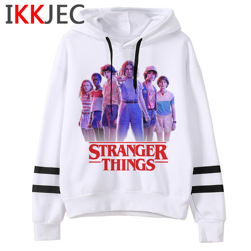 Stranger Things Season 3 Harajuku Eleven Hoodie Men/women Funny Cartoon Upside Down Sweatshirt Fashion Graphic Hoody Male/female