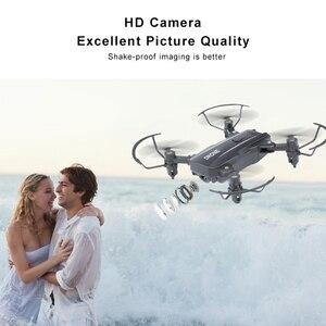 Image 2 - M9 мини Дрон камера HD 1080P Wi Fi FPV Дрон складной удержание высоты RC вертолет селфи игрушечные Дроны для детей RC Quadcopter
