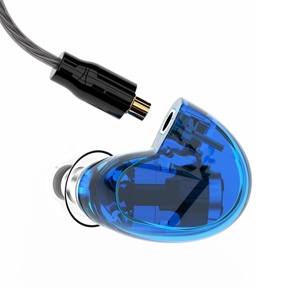 FDBRO ASY MMCX Cabo Destacável de ALTA FIDELIDADE DJ monitor de Esporte Fones De Ouvido Fone de Ouvido Intra-auriculares UE SE535 Híbrido Armadura Balanceada no fone de ouvido da orelha