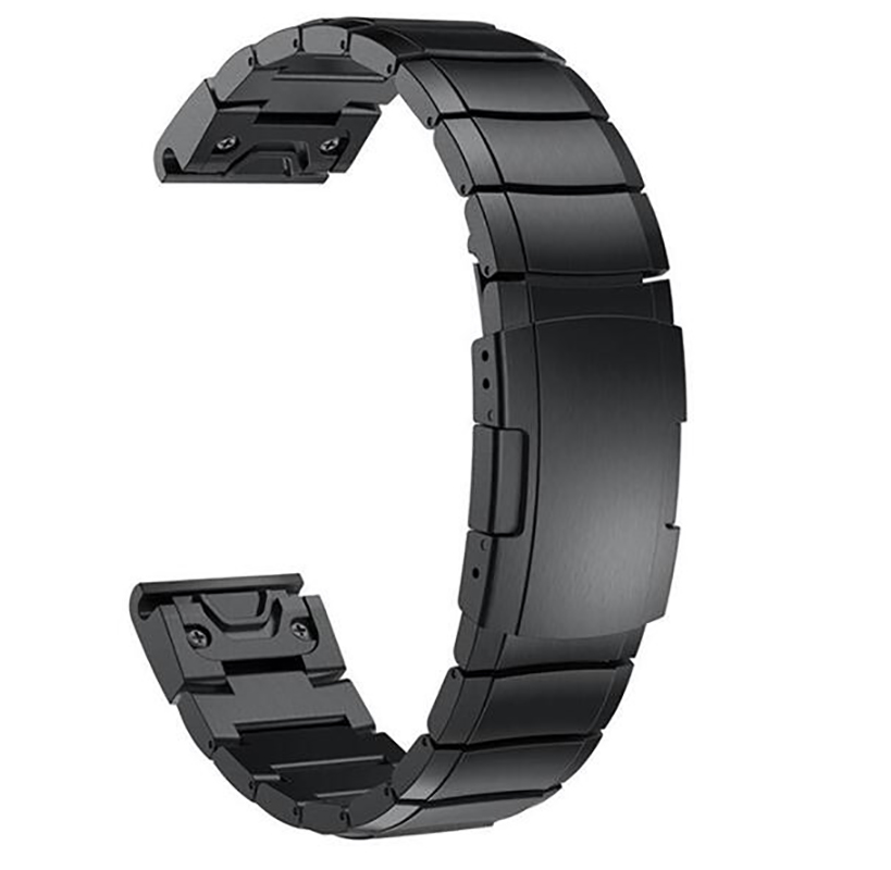 Image 2 - Quick Fit Watch Bands For Garmin Fenix 5/Fenix 3 HR Fenix 5S/5X Plus Stainless Steel Watch Band Strap for Forerunner 935-in Watchbands from Watches