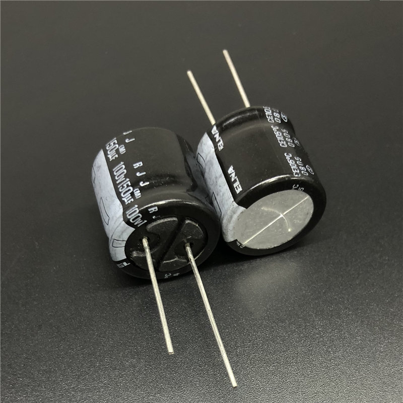 2Pcs/10Pcs <font><b>150uF</b></font> <font><b>100V</b></font> ELNA RJJ Series 18x20mm 100V150uF Low Impedance High Reliability Audio Capacitor image