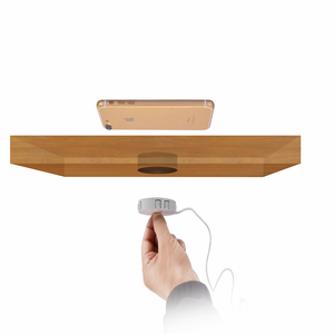 Image 5 - Invisible Fast QI Wireless Charger For iPhone 11 Samsung Hidden Embedded Adsorption Suspension Wireless Charging Pad For Xiaomi