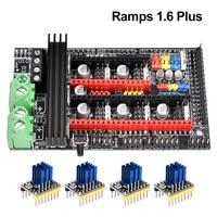 3D Printer Parts Ramps 1.6 Plus Board upgrade base on Ramps 1.6 1.5 1.4 Control Board PCB TMC2130 TMC2208 Drv8825 A4988 Driver