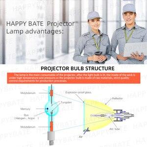 Image 4 - happybate Compatible projector bulb lamp 5J.J5405.001 for Ben Q MP525V MP525 V W700 W1060 W703D W700+ EP5920 projector lamp bulb