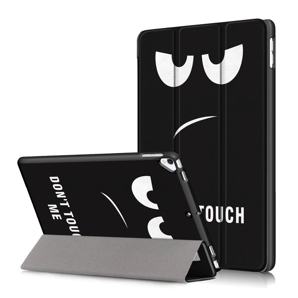 H Khaki Smart PU Leather Case for iPad 10 2 2019 Case Cover for Apple iPad 7 7th